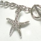 Starfish charm toggle bracelet(R1139SL-32527)
