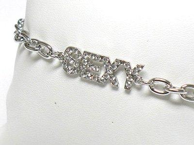Sexy chain bracelet(R1149SL-323119)