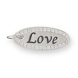 """Reversible """"Love"""" Fashion Pendant(W5008)"""