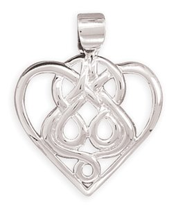 Celtic Heart Pendant(7210)