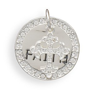 """Faith"" Fashion Pendant(W5027)"