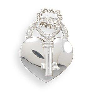 Heart and Key Fashion Pendant(W5023)