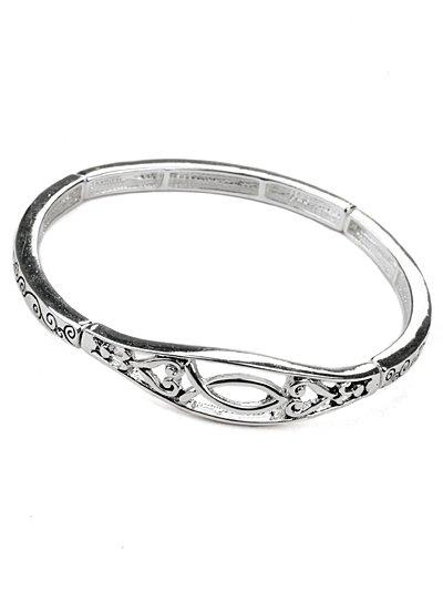 Ichthys fish bracelet(b22038ats_28HD)