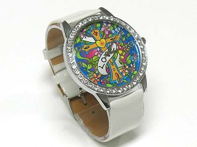 Tattoo background watch(N1573BK-65102)