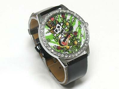 Tattoo background watch(N1573BK-65106)