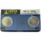 AG13/357A Alkaline Button Cell Battery