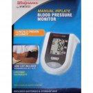 Homedics Manual Inflate Blood Pressure Monitor