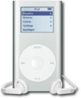 iPod Mini 6GB Silver - 1,500 Songs in Your Pocket