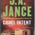 Cruel Intent by J.A. Jance (2008, Hardcover)
