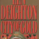 City of Gold by Len Deighton (Hardcover) - Large Print Edition
