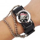 Skull & Cross-Bones Chain Watch - Free Shipping