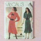 Retro 80's McCall's 2093  Shirtwaist Dress Pattern Liz Claiborne Collection Collar V-neck Uncut