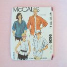 Retro 80's McCall's 9629 Button Front Shirt Sewing Pattern Fenn Wright & Mason