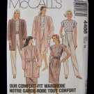 McCall's 4488 Cardigan Top Pants and Skirt Pattern Retro 80's Ensemble