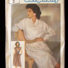 Simplicity  6734 Henry Grethel 80's Cowl Neck Two Piece Dress Pattern Uncut