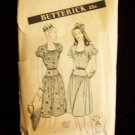 Vintage 40's Butterick No 3824 Day Dress Pattern Cap or Balloon Sleeve Yoke Waistline Size 14