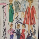 Vintage 60s Simplicity 5731 11.5 Inch Model Doll Wardrobe Pattern For Barbie Tressy and More