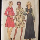 Vintage 70 Simplicity  5968 Evening Cocktail Dress Pattern Retro Fashion