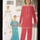 Butterick  4011 Tunic Top Skirt and Pants Pattern Sizes 20-24 Uncut