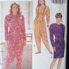 Butterick 5222 Shaped Hemline Top Straight Skirt Loose Fit Pants Pattern Uncut Size 12-16