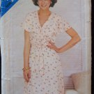 Vintage 70s Butterick See and Sew 5012 Flounce V-Neckline Summer Dress Pattern Uncut