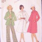 Vintage 70s Simplicity 7261 Raglan Sleeve Shirt Dress and Pants Pattern Size 14 Uncut