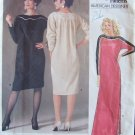 Vogue American Designer  1389 Geoffrey Beene Evening Dress Pattern Retro 80s
