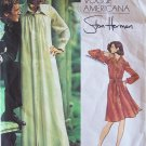 Vintage 70s Vogue Americana  2975 Stan Herman Max Shirt Dress Pattern Size 16