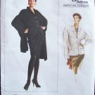 Retro 80's Vogue American Designer  2216 Donna Karan Jacket and Shawl Pattern Size 16