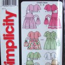Simplicity 5653 Girl's Sundress Jacket and Purse Sewing Pattern Uncut Size 3-8