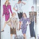 McCall's 5757 Two Piece Suit Dress Evening Length Uncut Size 12-16