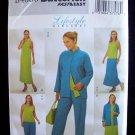 Butterick Pattern 4080 Reversible Jacket Top Dress Skirt Pants Uncut Size 20-24