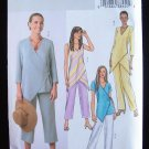 Butterick 4238 Women's Wrap Front  Top Pants Sewing Pattern  Uncut Plus Size 20-24