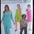 Butterick 4558 Women's Plus Size Capri Pants Tunic Top Shorts Sewing Pattern Uncut 18w-24W