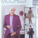 McCall's 9645  Palmer Pletsch Lined Jacket and Pants Sewing Pattern Uncut Size 24
