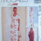 McCall's 2070 Sleeveless Empire Waist Dress and Jacket Sewing Pattern Uncut Size 16-20