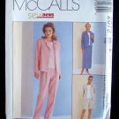 McCall's 2072 Wrap Skirt Jacket Top Pants Shorts Sewing Pattern Uncut Size 14-18