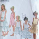 Simplicity 8681 Girl's A-Line Slip and Camisole Sewing Pattern Uncut Size 7-12