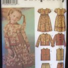 Simplicity 5939 Dress Pants Mandarin Jacket or Vest Sewing Pattern Uncut Size 3-8