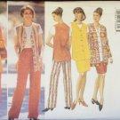 Butterick 4344 Jacket Vest Skirt and Pants Sewing Pattern Uncut Size 20-24