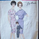 Vogue Paris Original 1000 Guy Laroche Slim Dress Pattern Vintage 60's Size 16