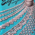 Vintage 40s Star Book No 41 Edgings Crochet Instruction American Thread Co