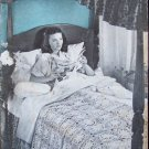 Vintage 40s Star Bedspreads Book No 34 American Thread Company Crochet Instruction Patterns