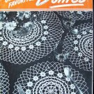 Vintage 40s Clark's ONT J & P Coats Book No 217 Old and New Favorite Doilies Crochet Patterns