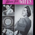 Vintage 1949 Clark's ONT J & P Coats Book No 255 Ideas For Gifts Crochet Patterns