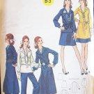 Vintage 70s Butterick 5928 Tunic Dress Skirt Pants Pattern Uncut Size 16