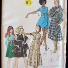 Vintage 60s Butterick 5887 Empire Waist A-Line Dress or Jumper Pattern Uncut Size 14