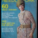 Vintage 1969 Lady's Circle Needlework Magazine 60 Designs Knitting and Crochet