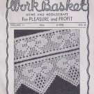 Vintage 40s Workbasket May No 8 Vol 2 Crochet Knitting Pattern Instructions Pull Out