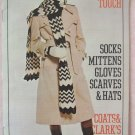 Vintage 70s Coats & Clark Book No 249 Socks Mittens Gloves Scarves and Hats Knitting Patterns